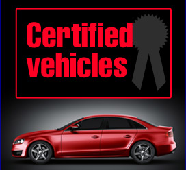 Certified vehicles, the best only